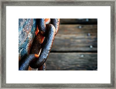 Linked Framed Print by Shane Rees