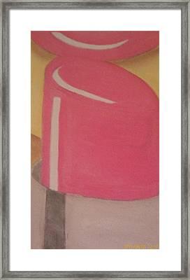 Lipstick Lover Framed Print by Cynthia Walker-Wiggins