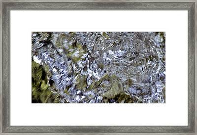 Liquid Crystals Framed Print by Russ Harris