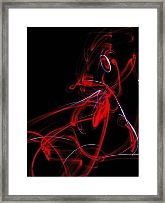 Liquid Ebergy 6 Framed Print by Cyryn Fyrcyd