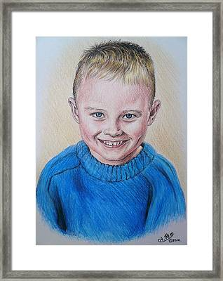 Little Boy Commissions Framed Print by Andrew Read
