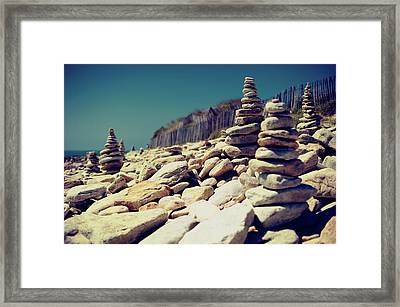 Little Carnac Framed Print by Quicksil7er
