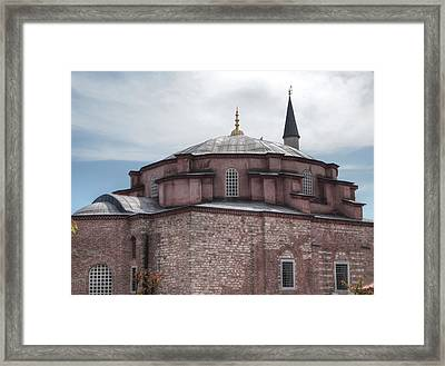 Little Hagia Sophia Framed Print by Guillaume Rodrigue