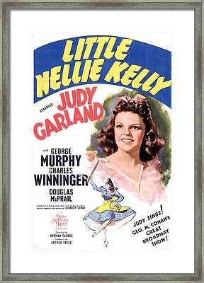 Little Nellie Kelly, Judy Garland, 1940 Framed Print by Everett