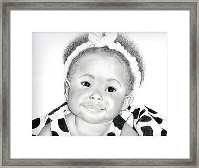 Little Princess Framed Print by Timothy Gaddy