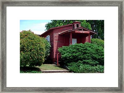 Little Red  Framed Print by Skip Willits