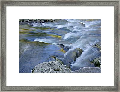 Little River Great Smoky Mountains Framed Print by Dean Pennala