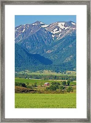 Little Switzerland  Framed Print by Alvin Kroon
