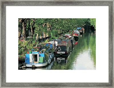 Little Venice, London, England Framed Print by Keith Mcgregor