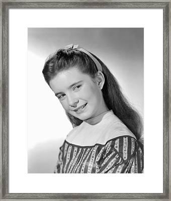 Little Women, Margaret Obrien, 1949 Framed Print by Everett