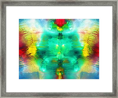 Living Form Framed Print by Sumit Mehndiratta