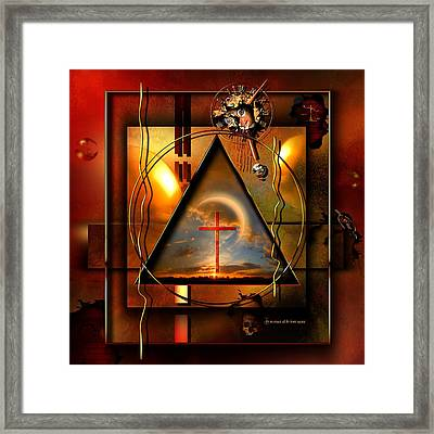 Living Hope Framed Print by Franziskus Pfleghart