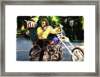 Living The Dream Framed Print by Michael Cleere