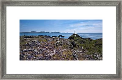 Llanddwyn Island Framed Print by Meirion Matthias