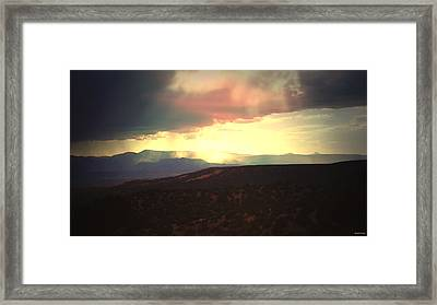 Lluvia De Bendigas  Showers Of Blessings- Framed Print by Anastasia Savage Ealy