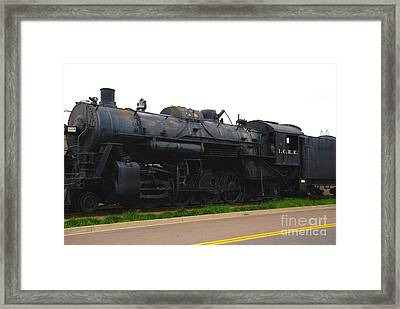 Loc 1518 In Paducah Ky Framed Print by Susanne Van Hulst