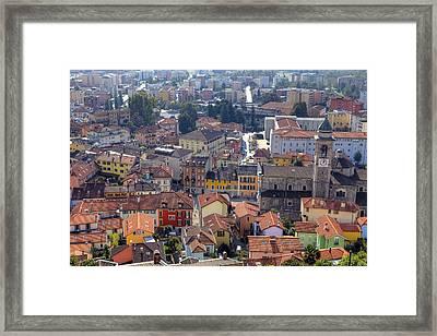 Locarno - Ticino Framed Print by Joana Kruse