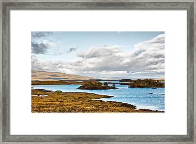Loch Ba View Framed Print by Chris Thaxter