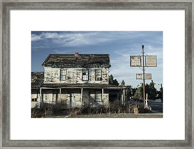 Locke House Framed Print by Dee  Savage