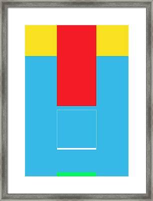 Lode Framed Print by Naxart Studio