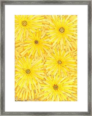 Loire Sunflowers One Framed Print by Jason Messinger