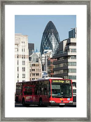 London Bridge Framed Print by Johnnie Pakington