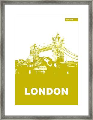 London Bridge Poster Framed Print by Naxart Studio