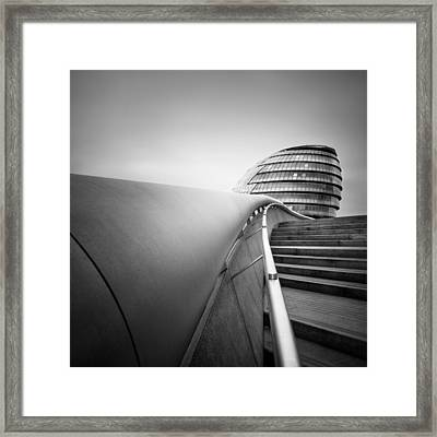 London City Hall Framed Print by Nina Papiorek