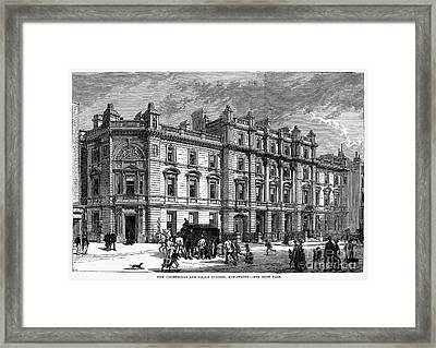 London: Courthouse, 1880 Framed Print by Granger