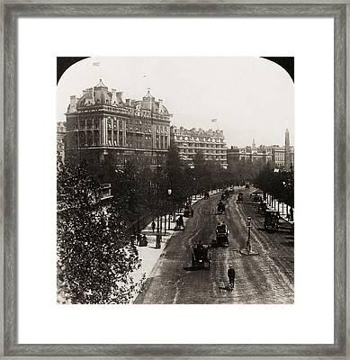 London: Embankment, 1908 Framed Print by Granger