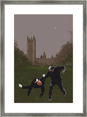 London Matrix Martial Arts Smith Framed Print by Jasna Buncic