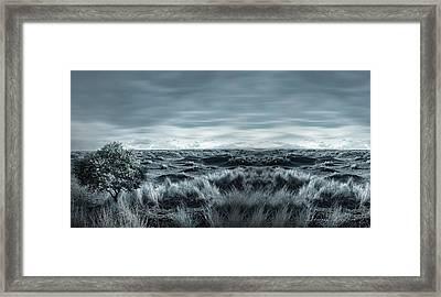 Lone Framed Print by Lourry Legarde
