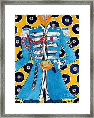 Lonely Hearts Club Member Paul Framed Print by Barbara Nolan
