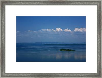 Lonely Island Framed Print by Cale Best