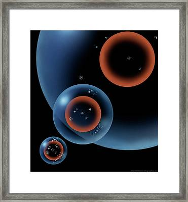 Lonely Universe Framed Print by Don Dixon