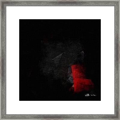 Long Dark Whisper Framed Print by TaO Bona