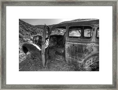 Long Forgotten Framed Print by Bob Christopher
