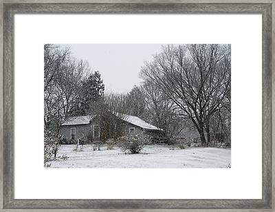Long Hard Winter Framed Print by Kelly Rader