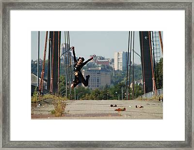Long Life To Bad Habits Framed Print by Svetlana  Sokolova