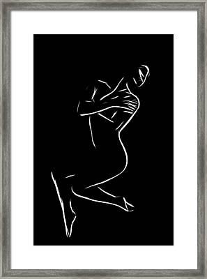 Longing Framed Print by Stefan Kuhn