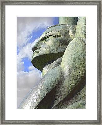 Look To The Sky - L Framed Print by Mike McGlothlen