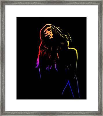 Looking For Framed Print by Stefan Kuhn