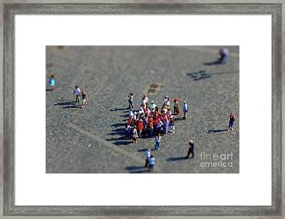 Looking Up Framed Print by Joerg Lingnau