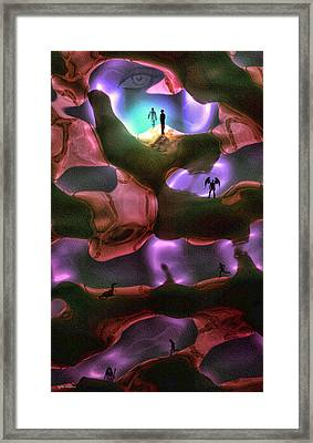 Looking Within Framed Print by Tyler Robbins