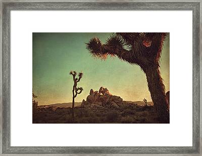 Looming Framed Print by Laurie Search