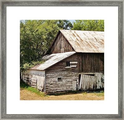Loosing The Farms Framed Print by Marsha Heiken