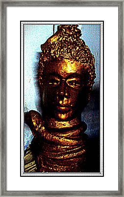 Lord Shiva Framed Print by Anand Swaroop Manchiraju