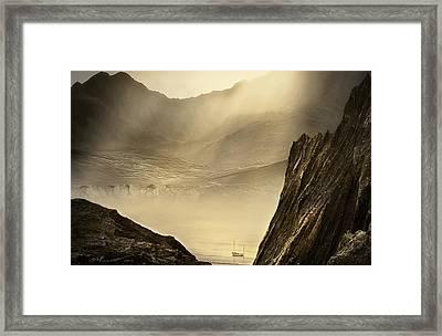 Lost Boat Framed Print by Svetlana Sewell