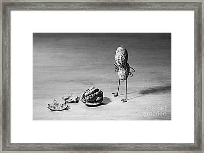 Lost Brains 02 Framed Print by Nailia Schwarz