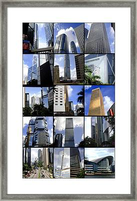 Hong Kong Framed Print featuring the photograph Lost In Hong Kong by Roberto Alamino